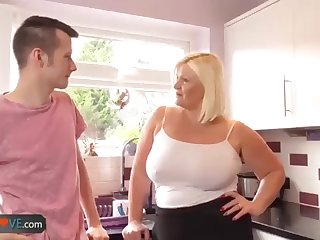 Agedlove grandmother buxom Lacey plumb with Sam-