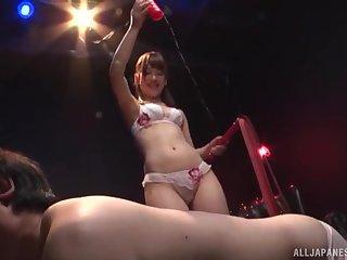 Excellent Japanese porn by Arimura Nozomi