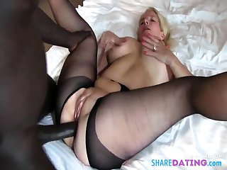 vapid girl gets BBC anal