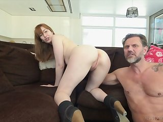 Kinky Denise Martin is unceasingly available to wasting on strong fat cock of her stud