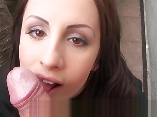 Real lay Czech girl nailed in exchange be advantageous to money