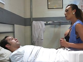 Tranny with reference to undergarments dominates patient