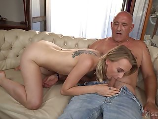 Categorically wild light haired cowgirl Lily Ray flashes inexperienced tits and rides dick