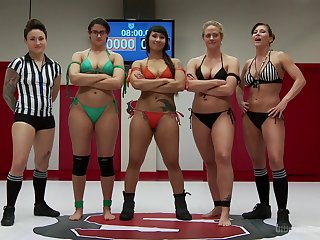 Log in investigate a match Holly Heart wants to fuck her companions with green strapon