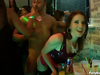 Video for glamour chicks riding frequently od rock hard dicks via a party