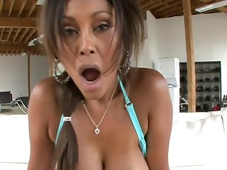 Eating unnumbered Indian ass after she ate curry
