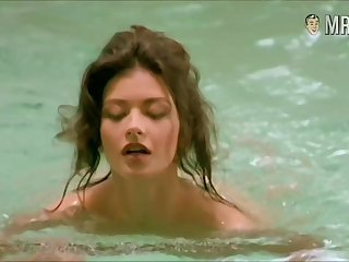 Catherine Zeta-Jones nude scenes compilation video
