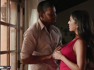 Sex-appeal indulge Sophia Leone is fucked by black lover Isiah Maxwell