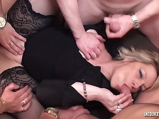 Beauty wife wants to a hard gangbang