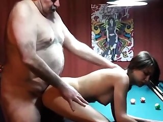 cucky films his gf with fat dad