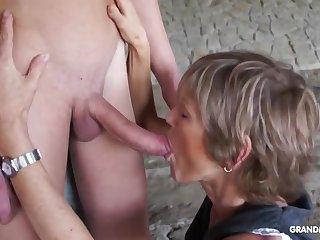 Horny Lady Teases The brush Toyboy