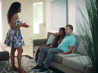 Interracial cheating session